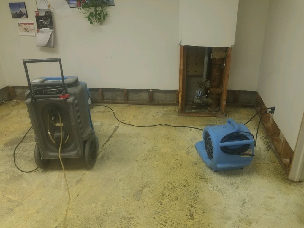 Water Damage Clean Up 2