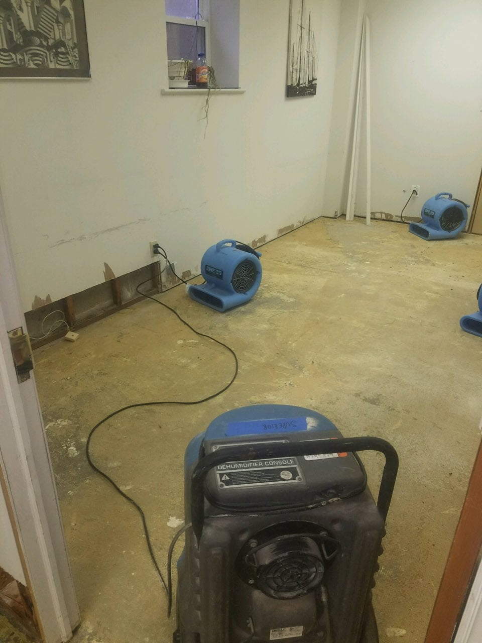 Water Damage Clean Up 3