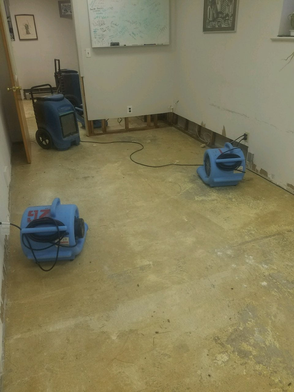 Water Damage Clean Up 4